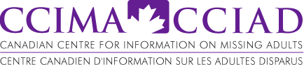 CCIMA - Canadian Centre for Information on Missing Adults